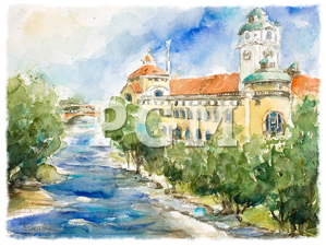 Original Aquarelle