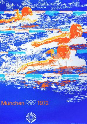 München Olympia 1972 Sportplakate