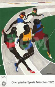 München Olympia 1972 Künstlerplakate
