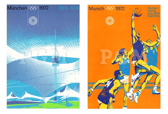 Olympiaplakate München 1972 | Poster Galerie München