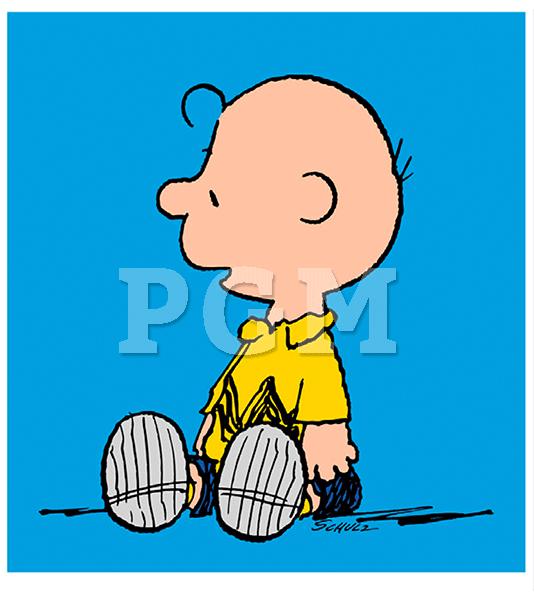 Peanuts charlie brown blue poster galerie m nchen - Charlie brown bilder ...