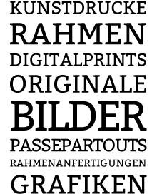 Poster Galerie München PGM Sortiment